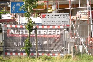 Baustelle MeiGon Einfamilienhaus Oorde