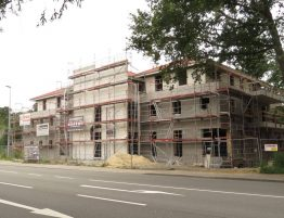 Baustelle Neuenhauser Straße