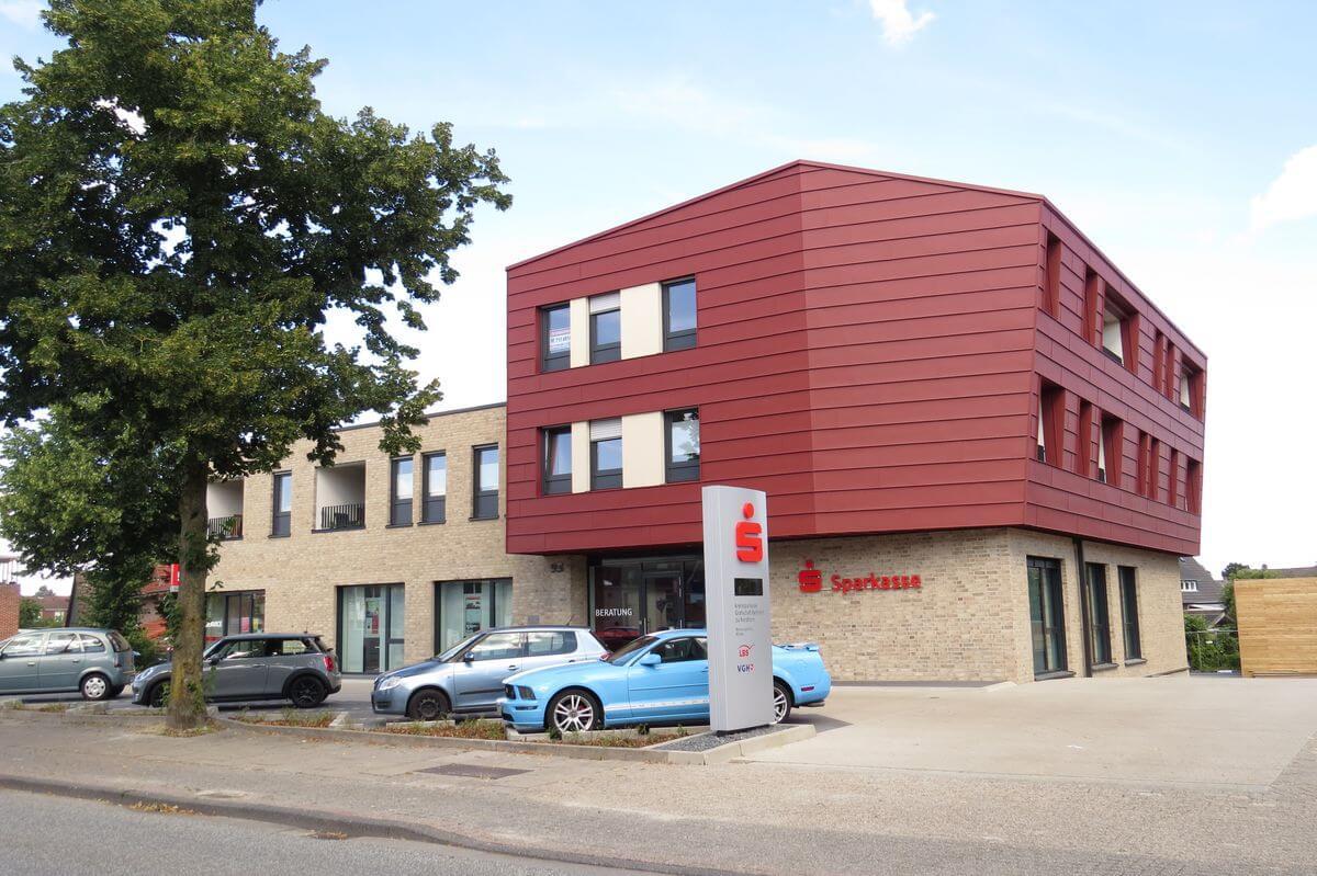 Baustelle Sparkasse Gildehauser Weg