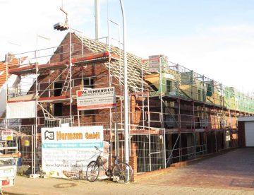 Baustelle Deegfelder Weg Nordhorn