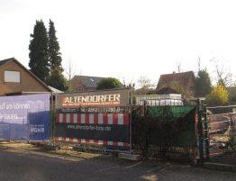 Baustelle Einfamilienhaus Deegfeld