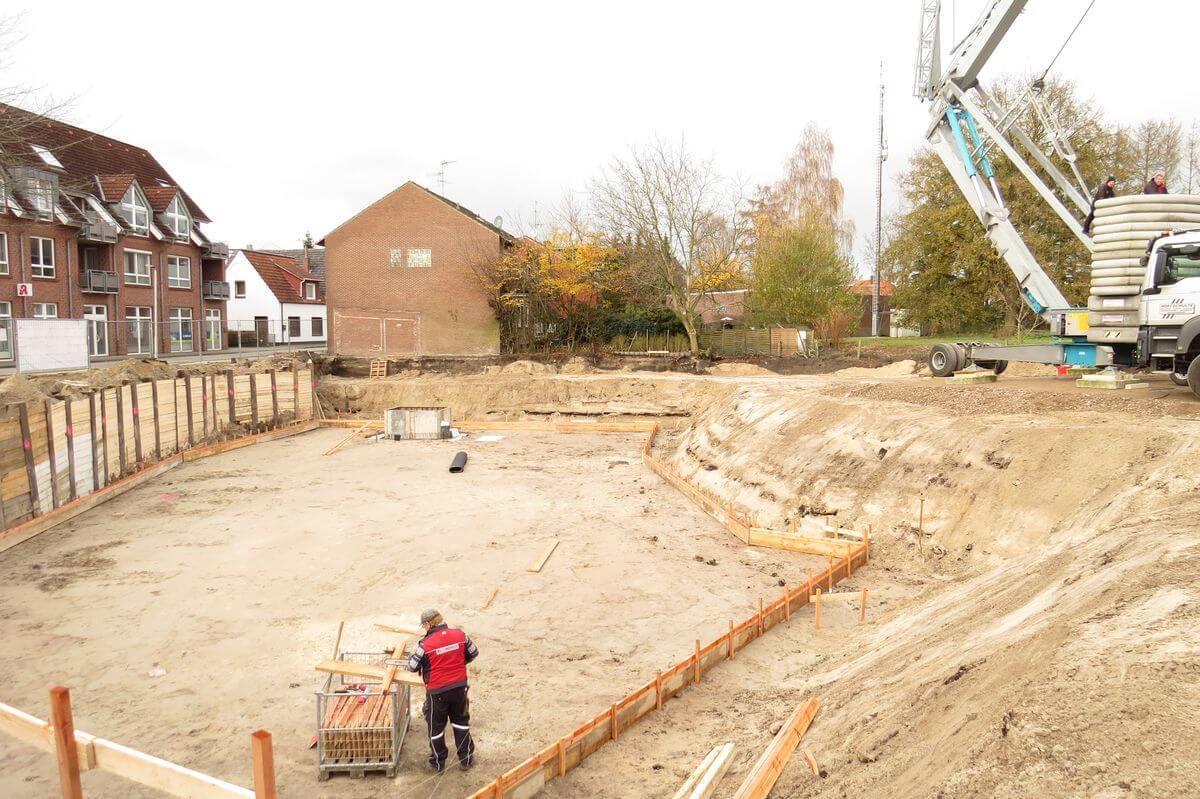 Lingener Straße Baustelle